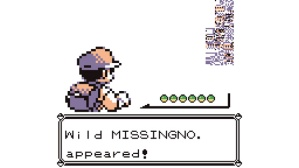 The infamous 'Missingno' glitch